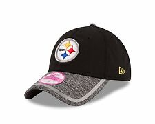 NFL Pittsburgh Steelers New Era Hat Womens 9twenty Heather 920 Training Camp Cap
