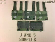 Lot of 5 MOLLE to ALICE CLIP Adapter USGI OD Green /Woodland New un issued