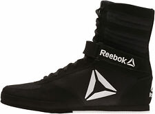 Reebok Combat Mens Boxing Shoes Black Lightweight Cushioned Midsole Martial Arts