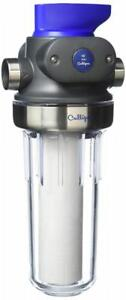 """CULLIGAN WH-HD200-C Whole House Sediment Water 1"""" HD CLR WTR Filter, Clear..."""