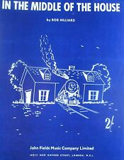 """IN THE MIDDLE OF THE HOUSE"" PIANO/VOCAL SHEET MUSIC-BRAND NEW ON SALE-1956-RARE"