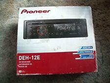 PIONEER DEH-12E CD PLAYER IN DASH RECEIVER NEW IN ORIGINAL BOX