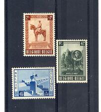 Belgium Scott B555-B557 NH    [ID#430535]