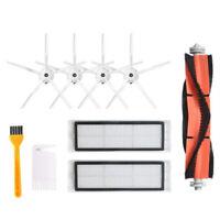 For Xiaomi Roborock S6 S5 E35 E2 Vacuum Cleaner Roller Side Brush Filter Kits