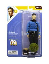 STAR TREK TOS FIGURINE MR. SPOCK THE TROUBLE WITH TRIBBLES MEGO 20 CM