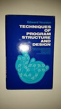 Vintage 1975 Edward Yourdon Techniques of Program Structure and Design HC DC
