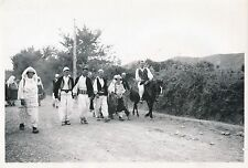 ALBANIE c. 1940 - Mariage Albanais Costumes Traditionnels - DIV 9782