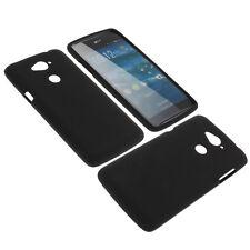 Tasche für Acer Liquid E600 Handytasche Schutz Hülle TPU Gummi Case Schwarz