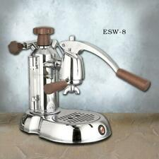 La Pavoni Stradavari ESW-8 Espresso Machine wood/chrome