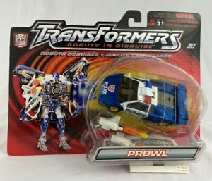 Hasbro Transformers Robots in Disguise: Prowl Action Figure (Blue & White) - NIB