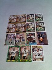 *****Hoby Brenner*****  Lot of 55 cards.....11 DIFFERENT / Football