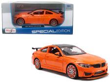 BMW M4 GTS Coupe Die-cast Car 1:24 Maisto 8 inch Orange 31246