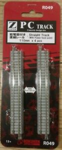 Rokuhan Z Scale R049 110mm Straight Track - New - Free Ship From USA