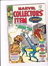 MARVEL COLLECTORS' ITEM CLASSICS #13 1968 / REPRINTS FANTASTIC FOUR #18 1963