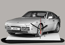 MODEL CARS, PORSCHE 944 -02, car passenger,11,8x 7,8 inches  with Clock