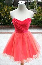 JOSH JAZZ Coral Peach Prom Party Dress 13 - $100 NWT