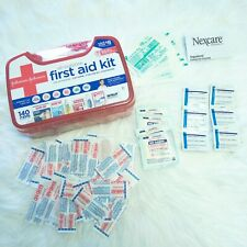 New Johnson & Johnson All Purpose First Aid Kit Emergency Survival Gear