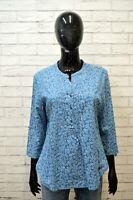 NAPAPIJRI Donna Maglia Camicetta Floreale Taglia L Manica 3/4 Mare Shirt Women