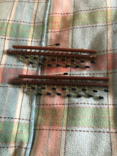 Vintage Wooden And Metal Tie Racks - Two - Immaculate - Fully Working Order!