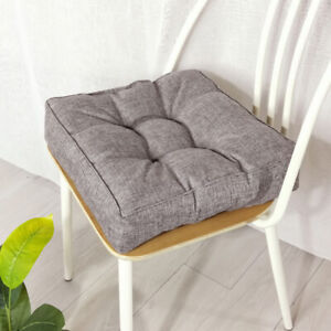 Thicken Square Cushion Seat Chair Soft Pad Booster Yard Patio Floor Pads Decor