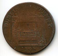 Irlande Dublin Halfpenny token 1795