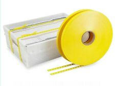 """1000' Mail Tray Strapping material (Uline) 9/16"""" 2x rolls of 500' each S-3919"""