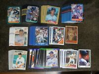 MIKE GREENWELL 256 CARD LOT MLB BASEBALL CARDS 1987 88 89 BOSTON RED SOX ROOKIES