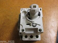 Schneider Electric 1-1,6A 690V 50/60Hz Trip On/Off Switch With GV2-AD0110 Used