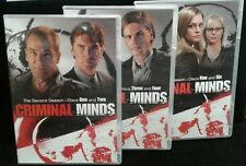CRIMINAL MINDS THE SECOND SEASON Discs 1 - 6