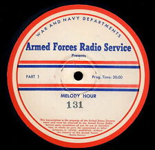 ANDRES SEGOVIA RARE 1946 RADIO SHOW TRANSCRIPTION DISC CLASSICAL GUITAR 16 INCH