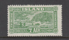 Iceland Sc 144 Landing the Mail Mint Hinged