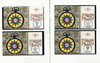 France Stamps # 1100 on 10x Official First Day Covers w/tabs