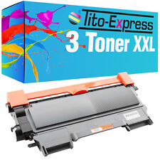 3x tóner XL para Brother tn2010 dcp7055 dcp7057 dcp7055 W hl2130 hl2132