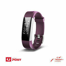 Smart Sports Watch Fitness GPS tracking Heartrate Monitor Waterproof Bracelet