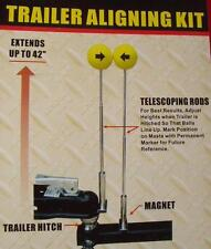 Trailer alignment kit, magnet hitch connector