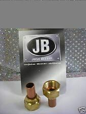 "J/B Industries, Flare TO Sweat Adapter , 1/4"" Female Flare Nut x 1/4"" O.D. sweat"