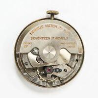 Genuine Vintage Benrus Swiss Cal. Model CF 1 17 Jewels Automatic Watch Movement
