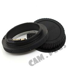 Macro Adjustable Aperture AF Confirm Canon FD Lens to Canon EOS EF Adapter Ring
