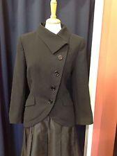 Zara Asymetrical Black Jacket