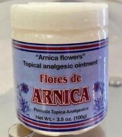Nueva Sellada Pomada De Arnica 4.oz  (Arnica Ointment) Hecho en Mexico