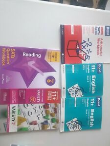 Bond 11 Plus Assessment English Arithmetic Maths 9-10 5 books
