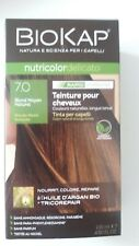 Coloration végétale Biokap - 7.0 Blond moyen naturel - A l'huile d'argan bio