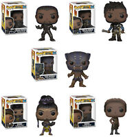Funko POP! Movies ~ BLACK PANTHER VINYL FIGURE SET ~ Killmonger, Nakia, Shuri++