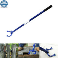 NEW Wrecking Claw 45'' Double Cats Paw Nail Puller Deck Demolition Pry Bar Tool