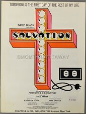 Tomorrow Is The First Day Of The Rest Of My Life Courtney & Link Salvation 1969