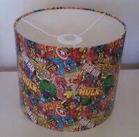 Retro Marvel Avengers Superhero Lampshade - Ceiling Lampshade 20cm diameter