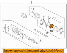 GM OEM Drive Axles-Front-Bushing 26049216