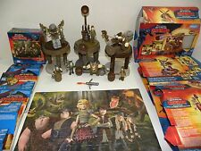 How Train Your Dragon Figures Playsets Weapons Lot Puzzle Cake Table Decorations