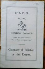 RAOB Collectable Masonic Books & Publications