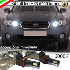 KIT FULL LED SUBARU OUTBACK 3 III ABBAGLIANTI LED HB3 9006 6000K 100% NO ERROR